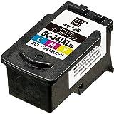 エコリカ キャノン(Canon) 対応 リサイクル インクカートリッジ 3色カラー 大容量タイプ BC-341XL ECI-C341XLC-V