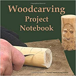Woodcarving Project Notebook Tree Spirit Cover A Journal For 15