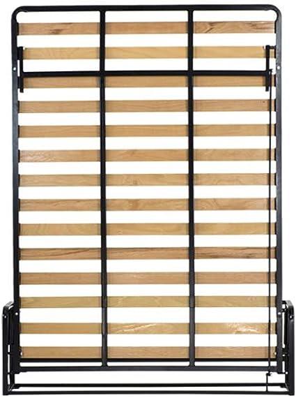 Wallbedking King tamaño Vertical de Pared Cama 150 cm x 200 cm Classic Murphy Bed, extraíble Cama, Cama Plegable, Cama Oculta