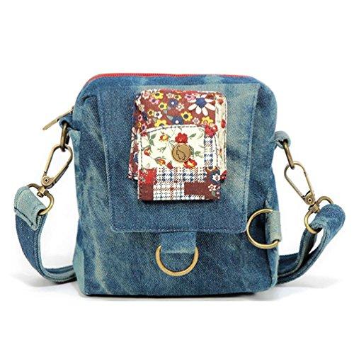 Chang Spent La nueva tendencia de las mujeres del bolso cuadrado pequeño bolso de pecho bandolera bolsa de mensajero (tres opciones de color) , b b