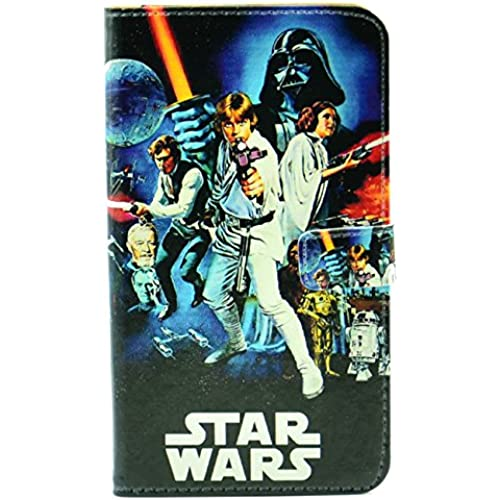 Galaxy S7 Edge Case A New Hope Characters Vintage Pattern Leather Wallet Credit Card Holder Pouch Flip Stand Case Cover For Samsung Galaxy S7 Edge Sales