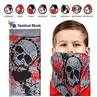 2 Sets Kids Tactical Vest Kit for Nerf Guns N-Strike Elite Series with 2 Dart Pouch, 4 12-Dart Quick Reload Clip , 2 Connector, 2 Wristbands, 2 Face Mask, 2 Protective Glasses and 80 darts