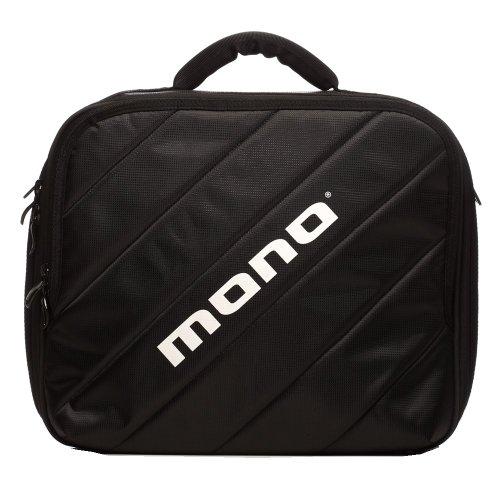 MONO M80 M80-DP-BLK Dual Kick Pedal Case - Black