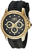 Invicta Women's 21904 Angel Quartz Chronograph Black Dial Watch