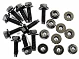 Retro-Motive Bolts & Flange Nuts for Nissan- M5-.80mm Thread- 8mm Hex- Qty.10 ea.- #383