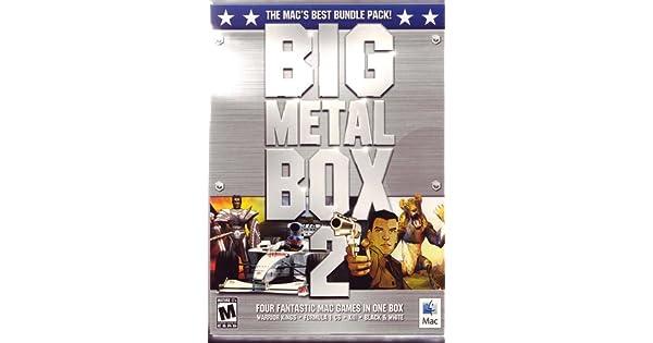 Amazon com: Big Metal Box 2: Warrior King, XIII, Formula 1 CS, and