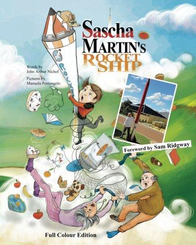 Sascha Martins Rocket Ship illustrated disastrous product image