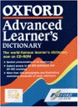 Book Oxford Advanced Learner's Dictionary 5th Edition on CD-Rom: CD-Rom: Windows Version