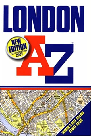 London A to Z: Geographers A Z Map Company: 9780850397529: Amazon
