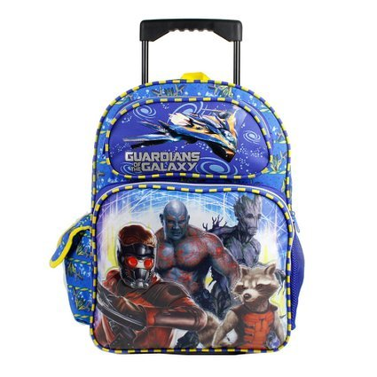 Star Lord Ruz 16 Rolling Backackpack Guardian of the Galaxy