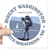 CafePress Mount Washington Sticker Bumper Sticker