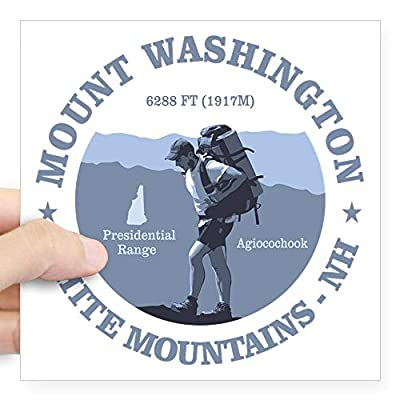 CafePress Mount Washington Sticker Bumper Sticker