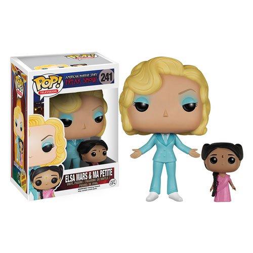 American Horror Story Season 4 Freak Show Elsa Mars and Ma Petite Pop! Vinyl - Horror American Elsa
