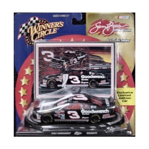 Winner's Circle Dale Earnhardt NASCAR Toy Car (Sam Bass Art Print (Sam Bass Nascar)