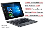 ChuwiUSA New Hi10 PRO 10.1'' FHD IPS Windows 10/Android 5.1 Dual Boot 2-in-1 Tablet PC Intel X5 Quad Core 4GB 64GB Bundle Detachable keyboard Docking