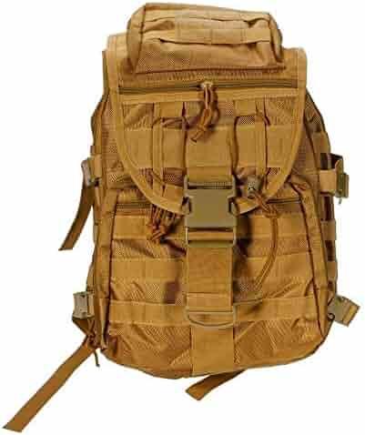 Color : Coffee Zhouminli Mens Backpack Retro Backpack Men and Women Shoulder Bag Oil Wax Canvas Travel Computer Bag Outdoor Waterproof Sports Mountaineering Bag Multifunctional Backpack for Men