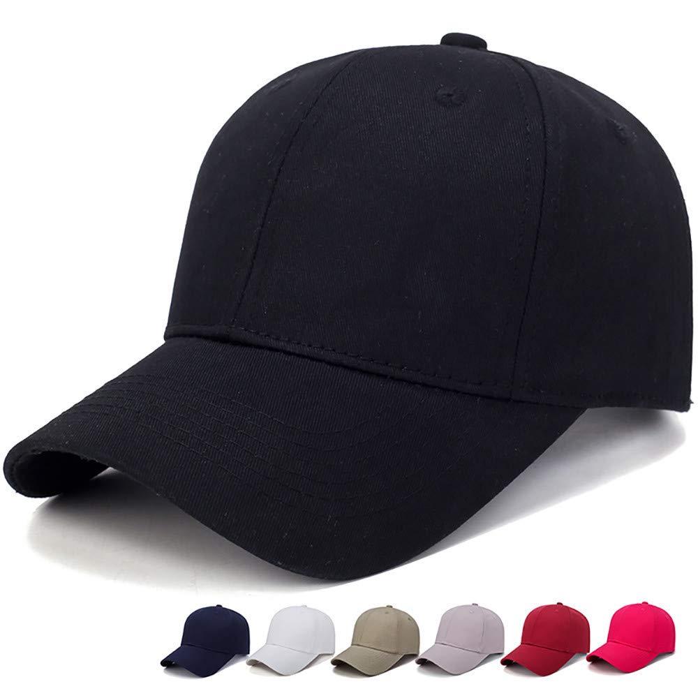 DEELIN Sombrero para Mujeres Hombre Color SóLido Sombrero AlgodóN Luz Tablero BéIsbol Gorra Hombres Gorra Al Aire Libre Sombrero De Hiphop Sombrero: ...