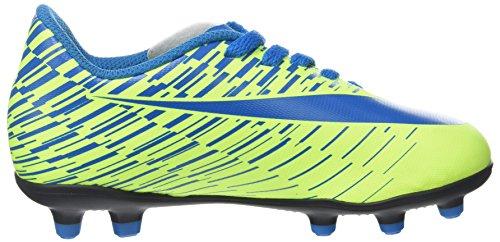 Nike Jr Bravata II FG, Botas de Fútbol Para Niños Gris (Volt/Blue Orbit)
