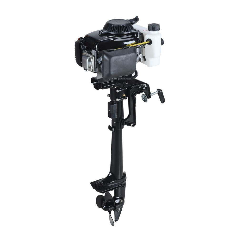 SEA DOG WATER SPORTS 4 Stroke 4.0HP Superior Engine Outboard Motor for Inflatable Kayak Fishing by SEA DOG WATER SPORTS