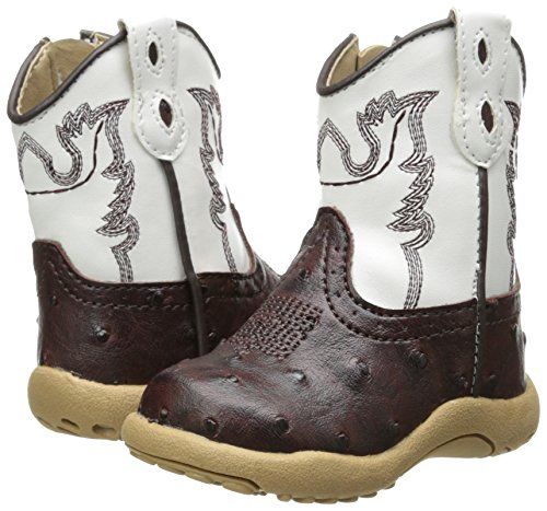 Pictures of Roper Cowbaby Ostrich Western Boot (Infant/Toddler) 4