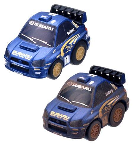 超リアル仕上げチョロQスペシャル スバル インプレッサ WRCar2004セット #1(メタリックブルー)