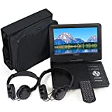 "Cinematix 9"" Portable DVD Player with 6 + Hour battery Life"