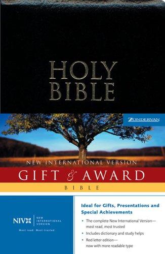 NIV Gift &  Award Bible, Revised PDF