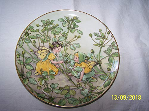 - Heinrich Villeroy and Boch The Black Medick Fairy Cicely Mary Barker Second Series of The Flower Fairies Collection CP362