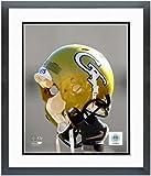 Georgia Tech Yellow Jackets Helmet Spotlight Photo 12.5'' x 15.5'' Framed