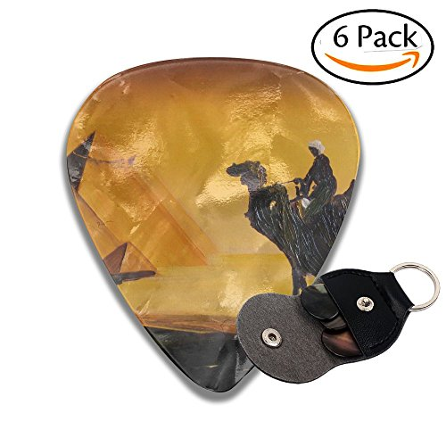 Egypt Pyramids Camel Classic Guitar Picks For Electric/acoustic Guitar,and Bass