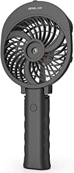 OPOLAR Misting Handheld Fan Foldable, Personal Small Desk Table Fan with