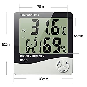 MCP Digital Room Thermometer for Temperature ...