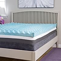 Slumber Perfect Big Bump 4-inch Gel Memory Foam Topper, Full