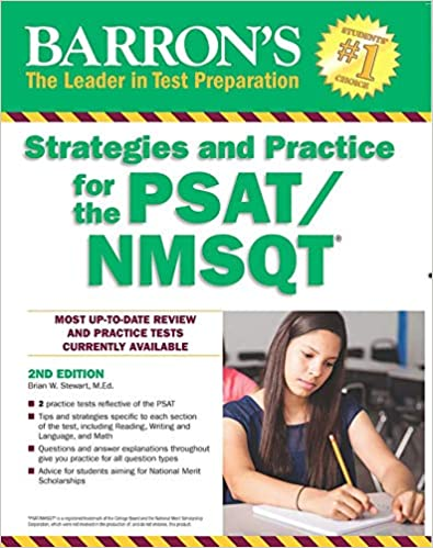 barrons strategies and practice for the psat nmsqt 2nd edition