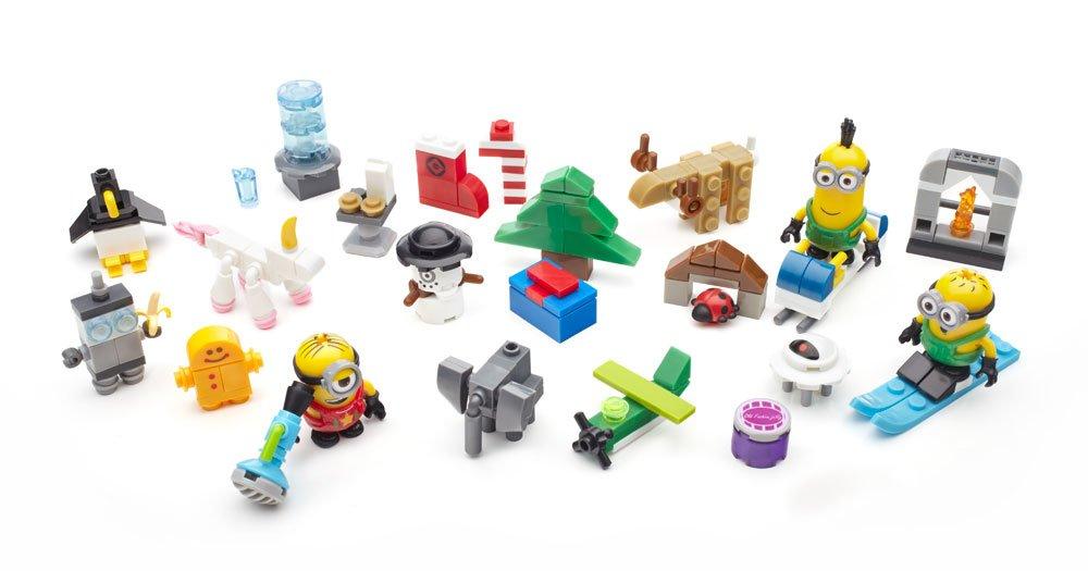 Mega Bloks CPC57 Niñ o/niñ a kit de figura de juguete para niñ os - Kits de figuras de juguete para niñ os (5 añ o(s), Niñ o/niñ a, Multicolor, Dibujos animados, Minions (animated film), Caja cerrada) Niño/n