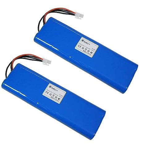 2 x Batería NI-MH Alto Rendimiento, 18 V/3500 mAh para para ...