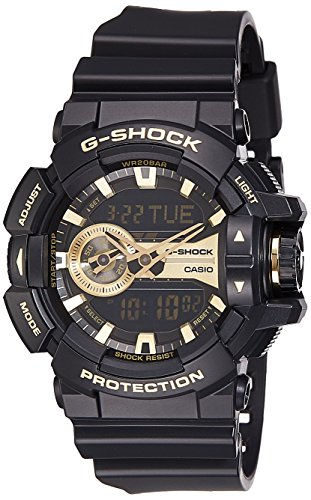 Casio Men's GA400GB-1A9 Black Resin Quartz Watch (Casio Ga 400 compare prices)