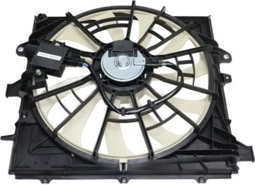 CPP Center Single Cooling Fan for 2013-2016 Cadillac ATS GM3115256