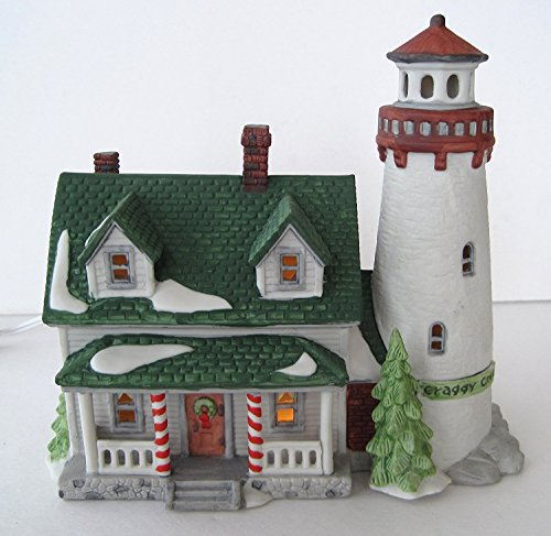 Dept 56 Retired Craggy Cove Lighthouse, New England Village [Item #59307]