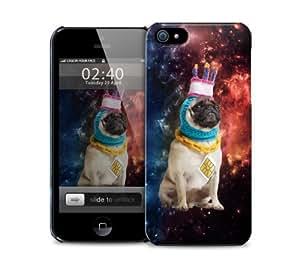 Astronaut Three Birthday Pug iPhone 5 / 5S protective case