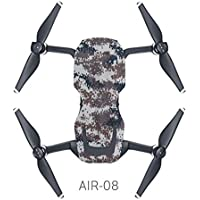 Hooshion DJI Mavic Air 12 Style Waterproof Decorative Theme Sticker Decal Skin Seal Drone Body Cover Graffiti Camouflage Starry Sky Sticker for DJI Mavic Air
