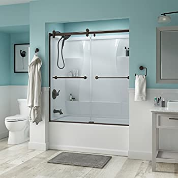 "Delta Shower Doors SD3276668 Trinsic 60"" Semi-Frameless"