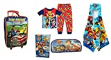 Going To Grandmas Overnight Suitcase Pajamas (5T) Hooded Towel + Accessories