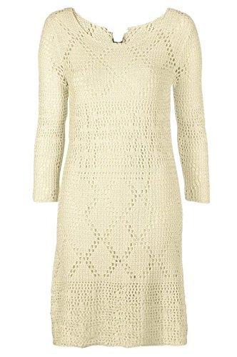 Vacances valise dames longueur genou crochet doublé tricot robe tunique size 20 22 24 UK