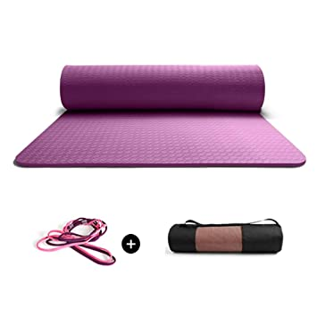 Espesor Extra Yoga Mat Fitness Tapetes Ideal para Camping ...