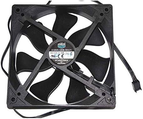 Ayazscmbs Compatible para Cooler Master A12025-12CB-3EN-F1 12V ...