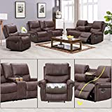 Recliner Sofa for Living Room Set Reclining Couch