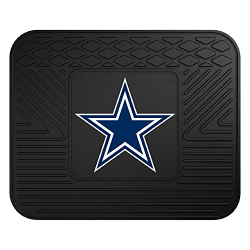 FANMATS NFL Dallas Cowboys Vinyl Utility Mat - Cowboys Rug Mat