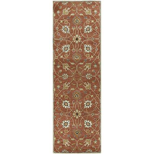 Surya Caesar CAE-1119 Hand Tufted Wool Classic Runner Rug, 2-Feet 6-Inch by 8-Feet -