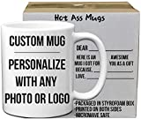 DIY Custom Personalized Photo Picture Coffee Mugs | Add Your Own Photo  Deal (Small Image)